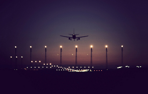 vliegtuigbaan